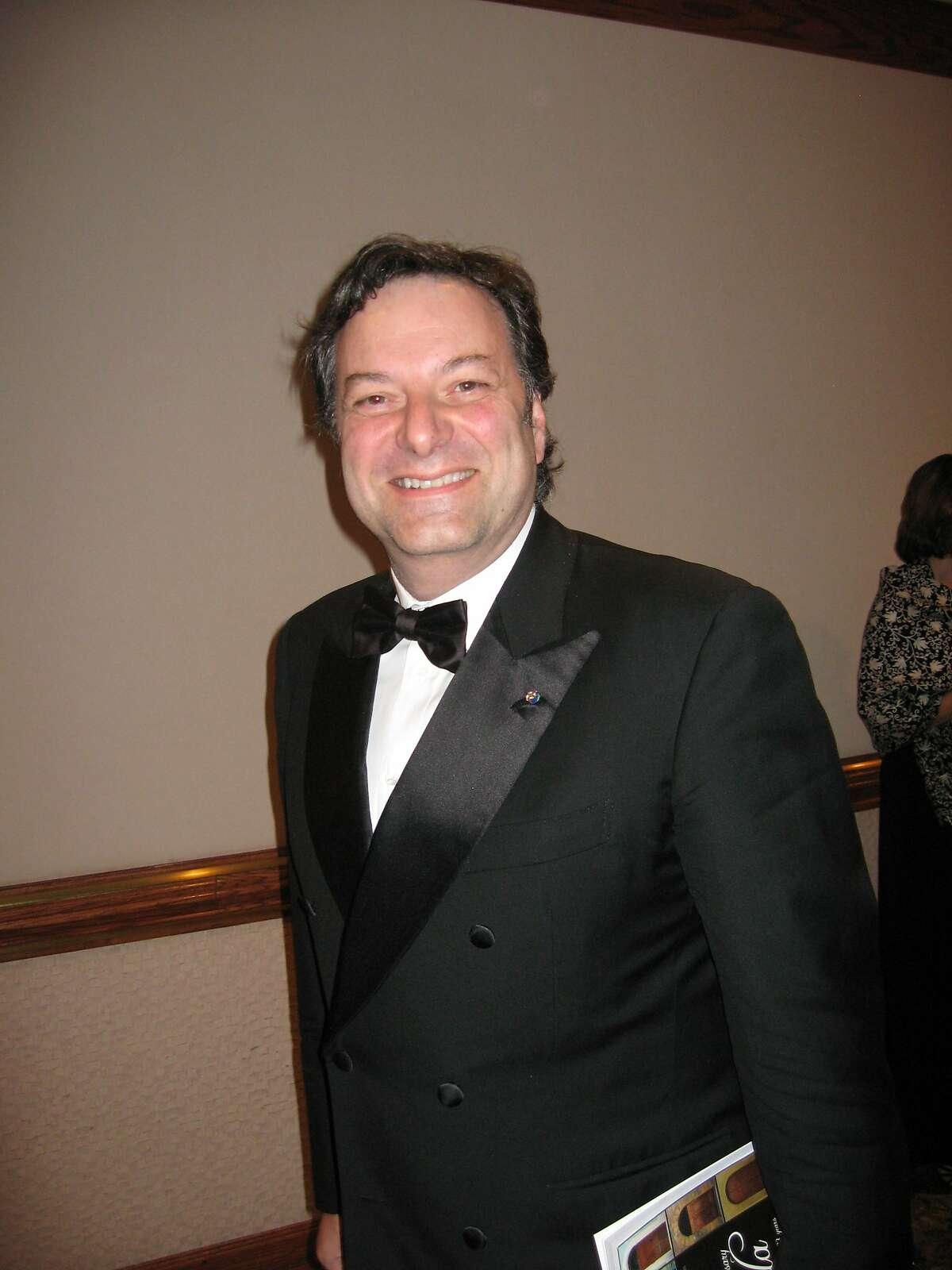 Jeff Capaccio at a Silicon Valley Italian Executive Council event.