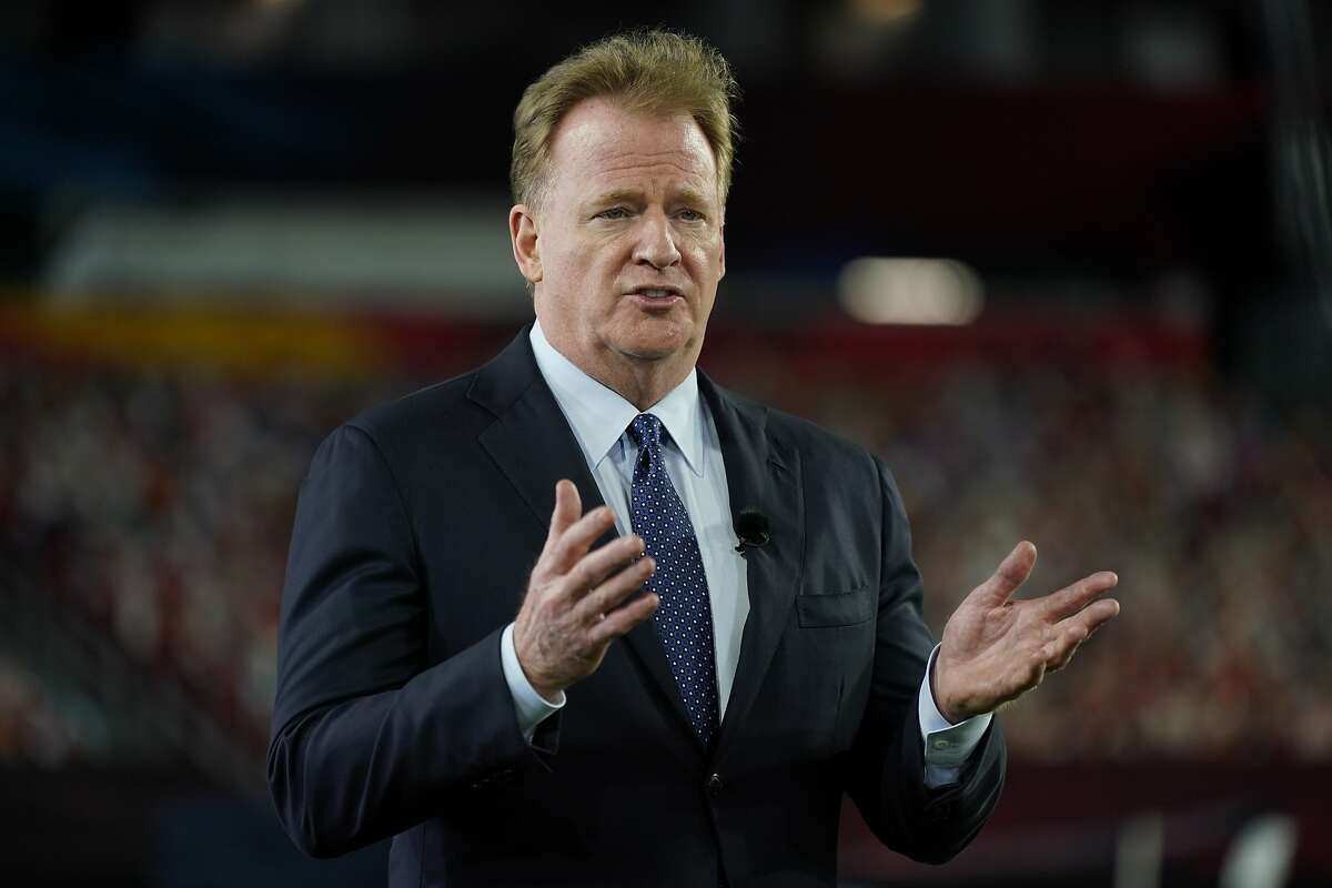 """NFL Commissioner Roger Goodell said, """"Football is not the same without fans, and we expect to have full stadiums."""""""