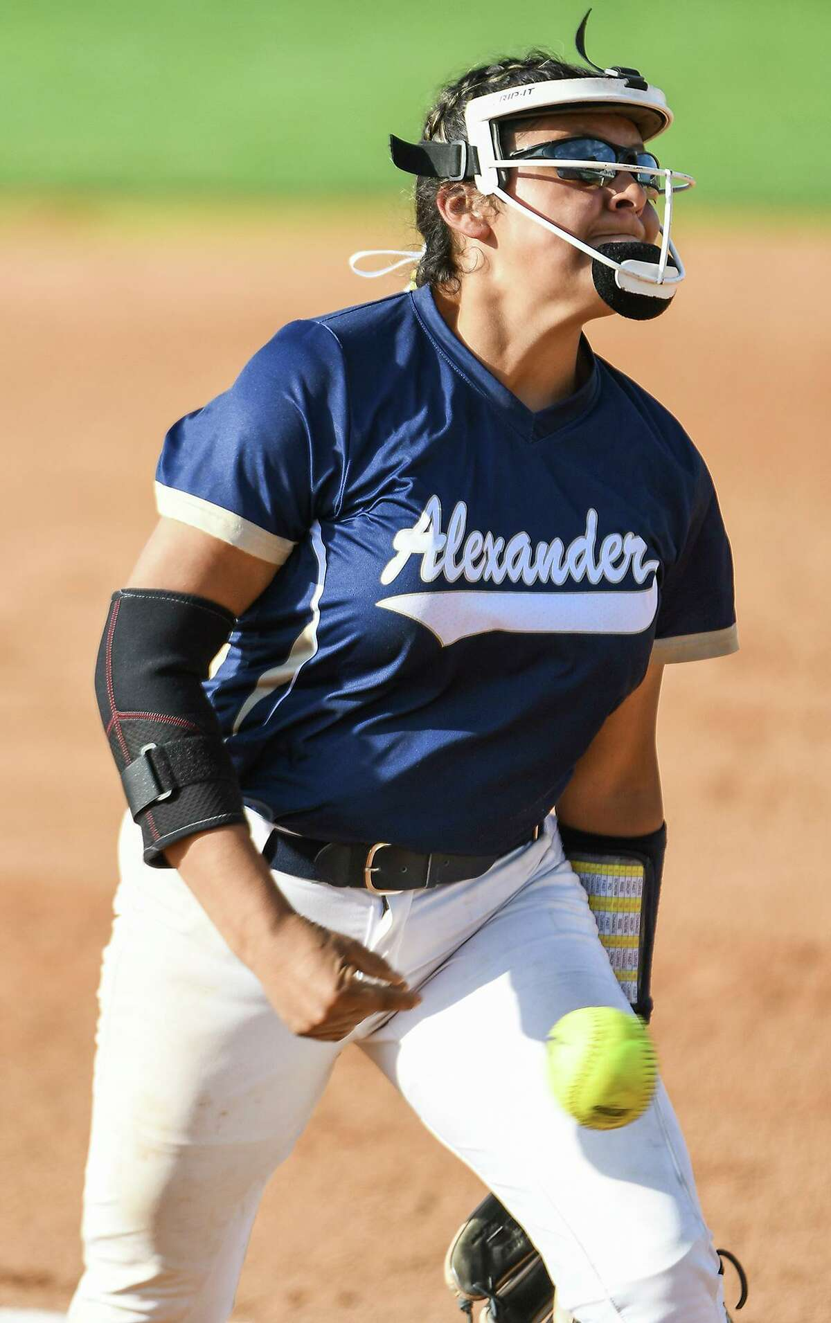 Krista Gamez earned the win Tuesday and had two hits at the plate as Alexander run ruled Nixon 15-0 in four innings.