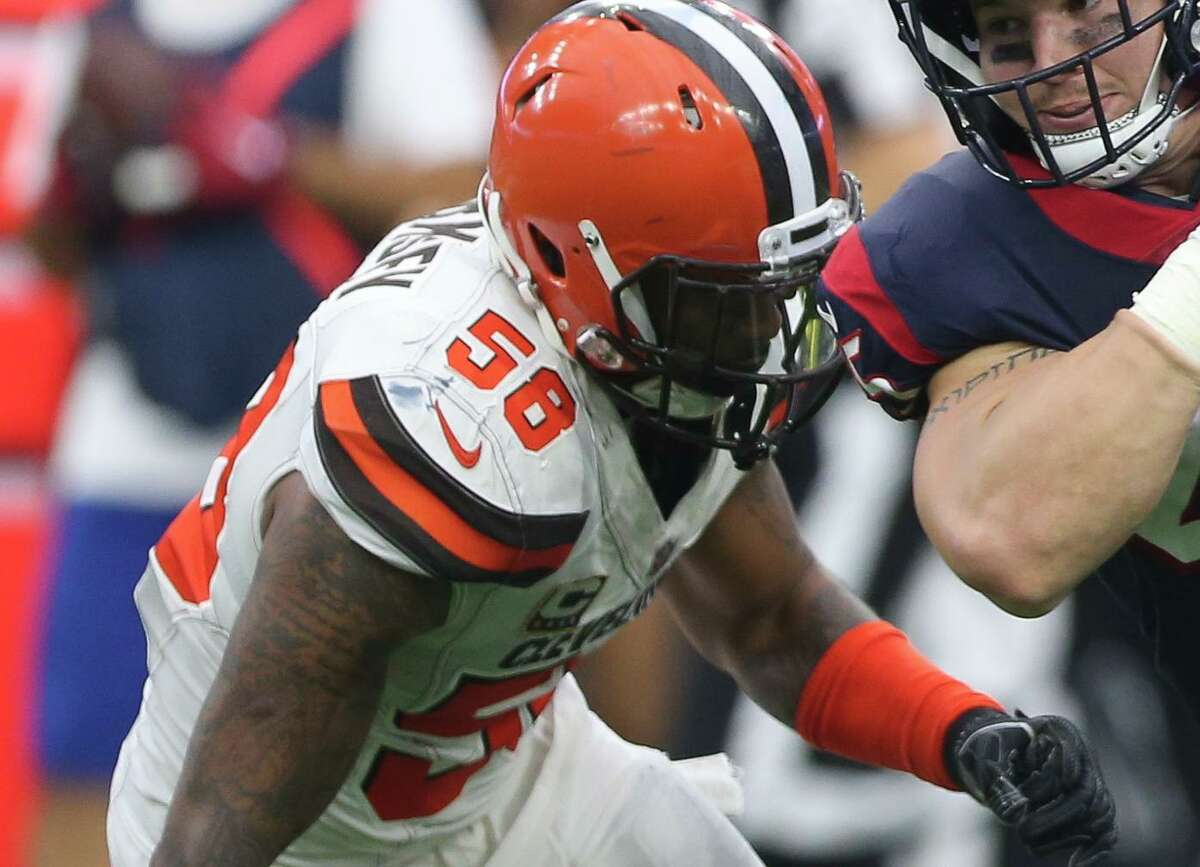 New Texans linebacker Christian Kirksey spent the first six years of his NFL career with the Browns before playing one season with the Packers in 2020.