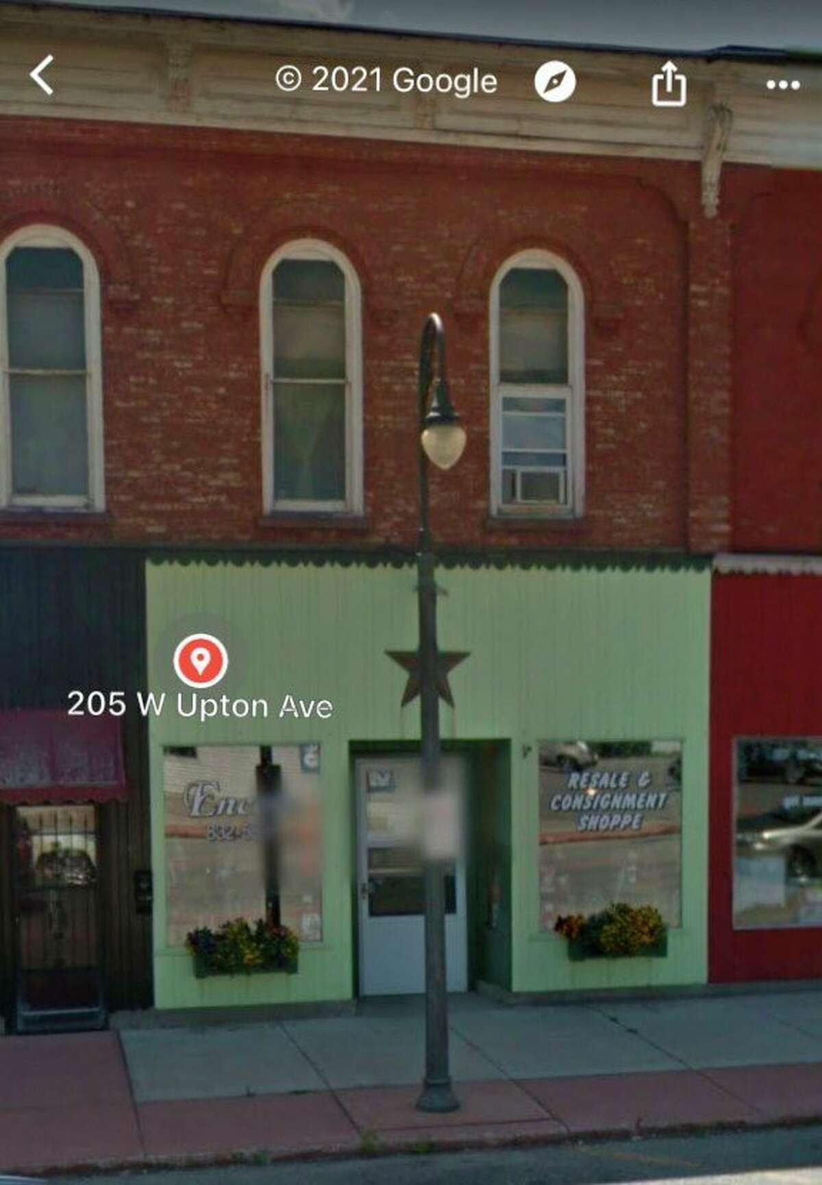 205 W. Upton Ave in Reed City is the new home of New Horizons Humane Society pet food bank and thrift store that will be opening soon. (Photo courtesy of Google Maps)