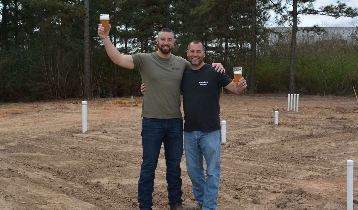 Paradigm Brewing Company Co-Owners Chris Juergen and Josh Schwaiger.
