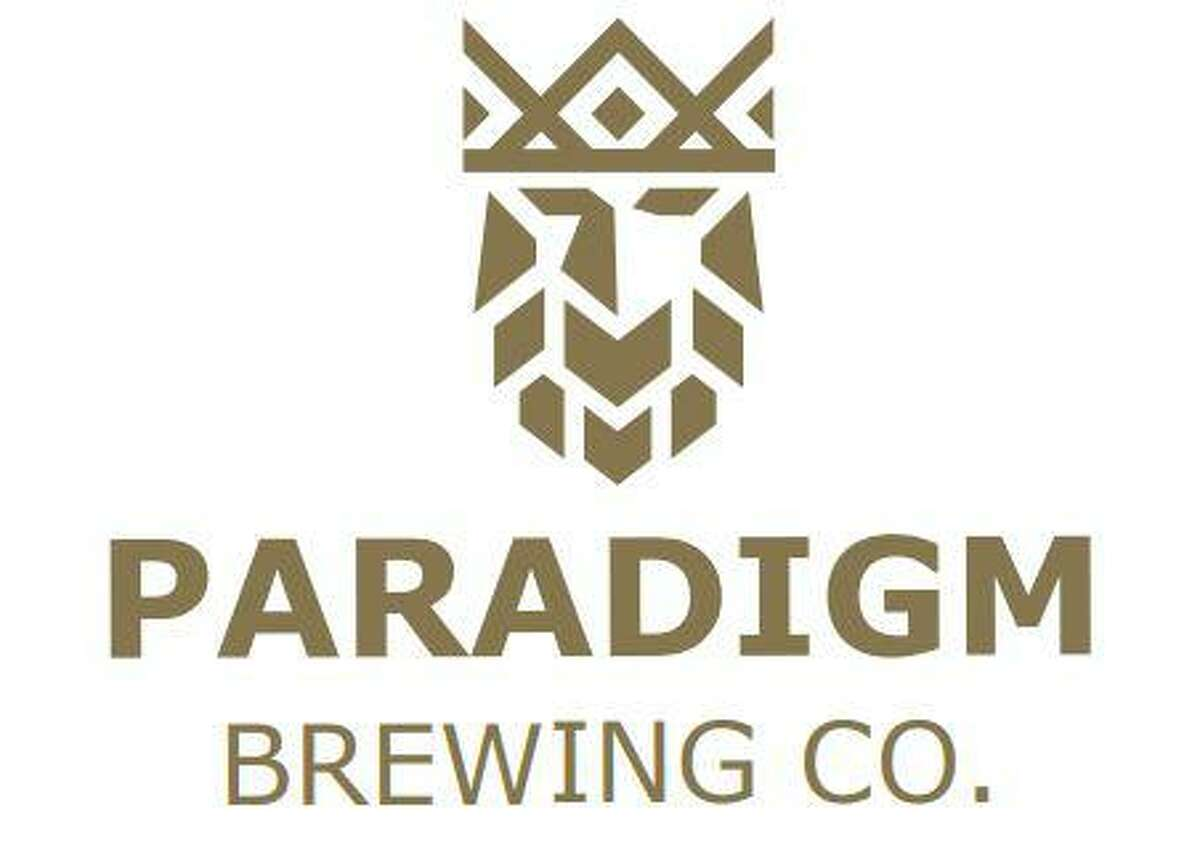 The logo for Paradigm Brewing Company, a new brewery opening in Tomball.