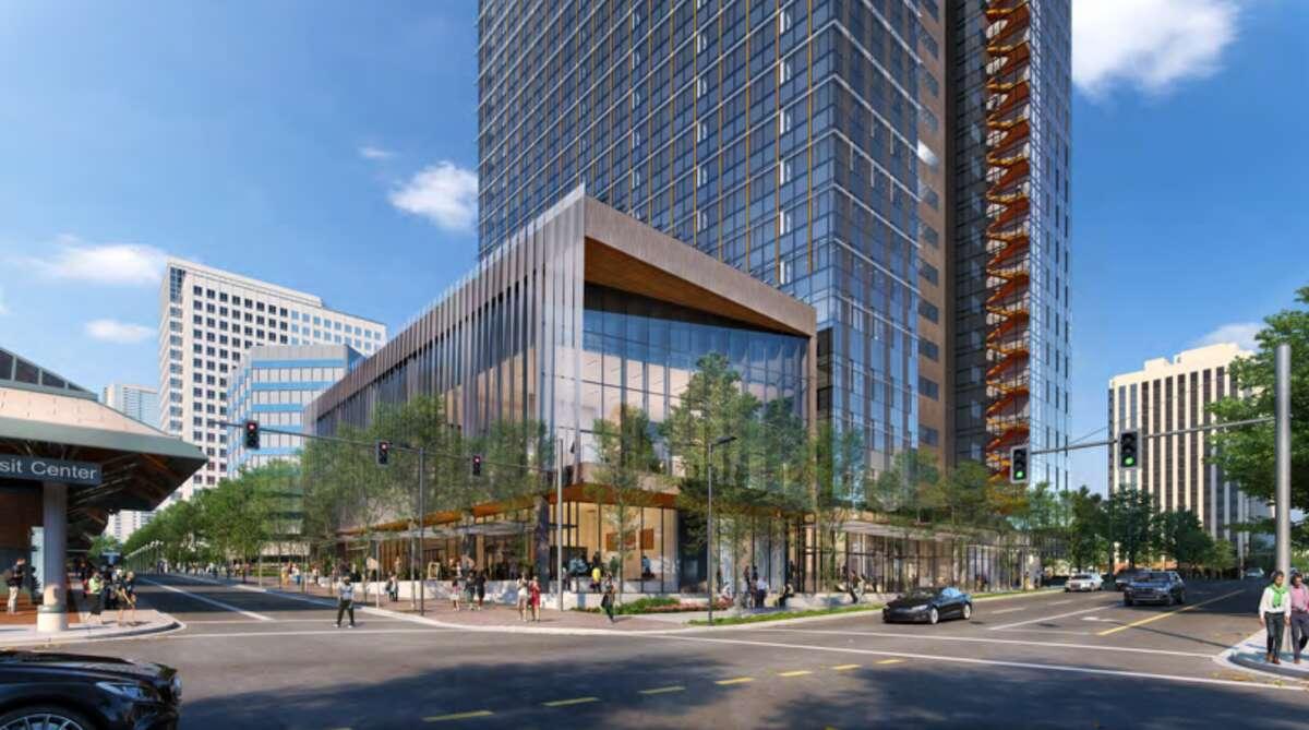 Construction on Amazon's Bellevue 600 office building begins