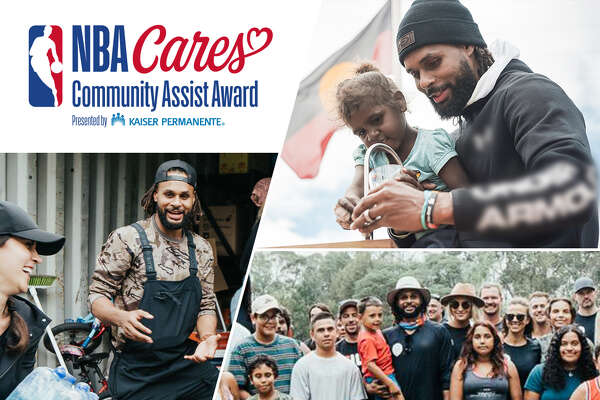 Patty Mills was honored with the NBA Cares Community Assist award for February. He presented with the award, which honors the standard set by Robinson, in a virtual ceremony this week. The Spurs will also recognize his efforts during the game against the Sacramento Kings.