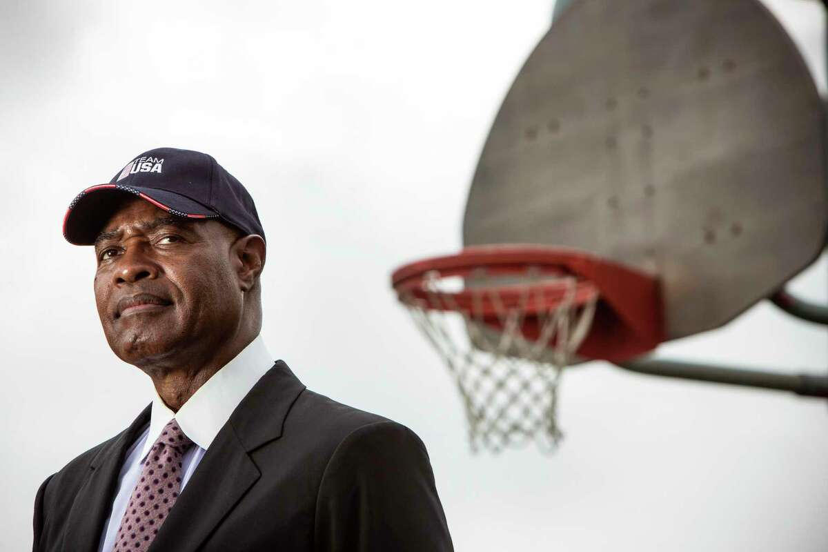 David Lattin, the former Houston Worthing basketball player, who was on the 1966 national champions from Texas Western.