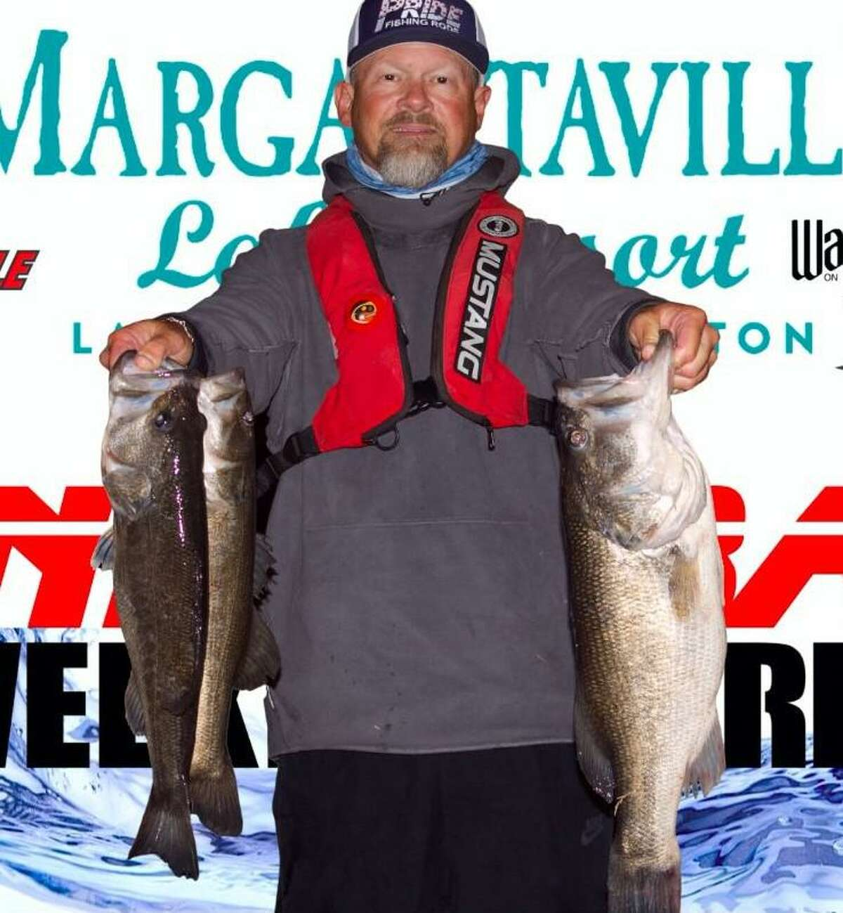 Scott Stephens and Michael Burks claimed second place in the CONROEBASS Tuesday Tournament with a total weight of 14.72 pounds.