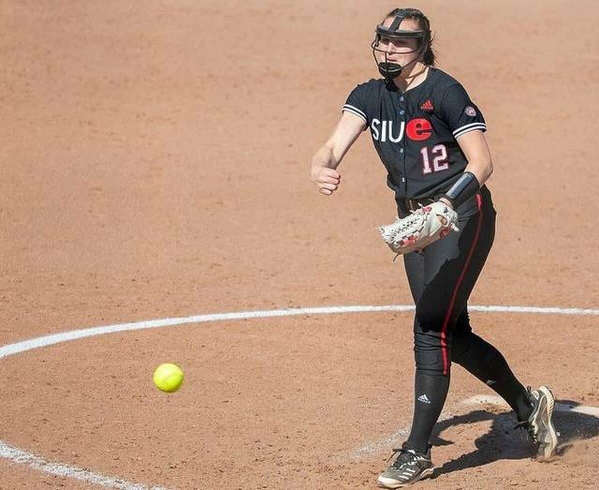 SIUE pitcher Sydney Baalman, a freshman from Calhoun High School, earned the victory in the first game of a doubleheader against Eastern Illinois Tuesday and is now 2-4. She allowed three hits and struck out two.