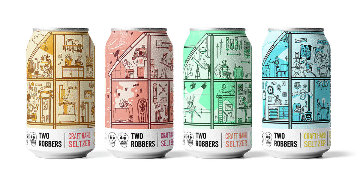 Two Robbers Hard Seltzer is in Texas, ya'll.
