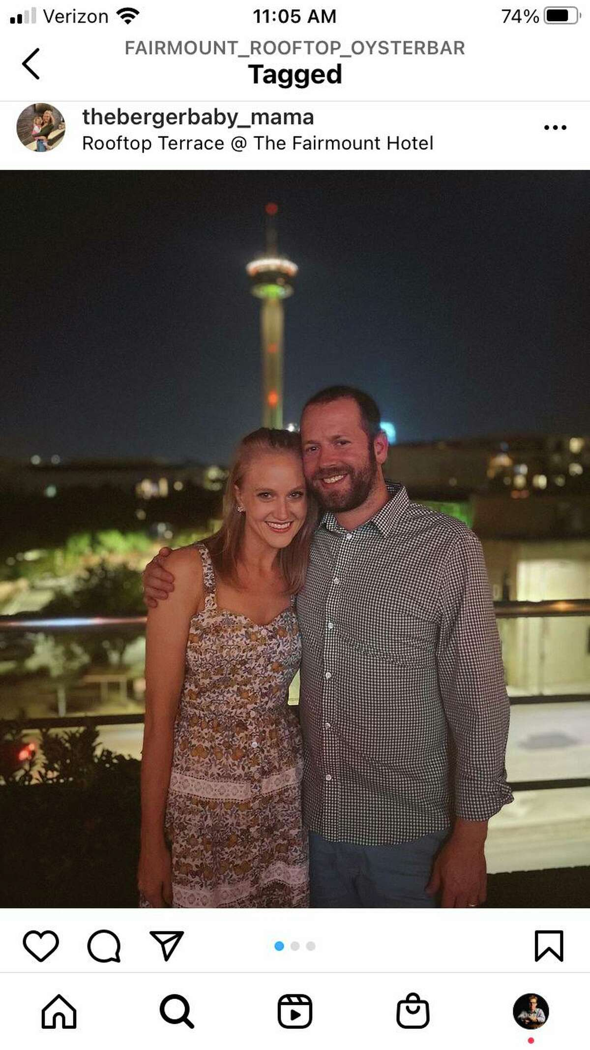 Instagram photos from Fairmount Rooftop Oyster Bar often feature the Tower of the Americas in the background.