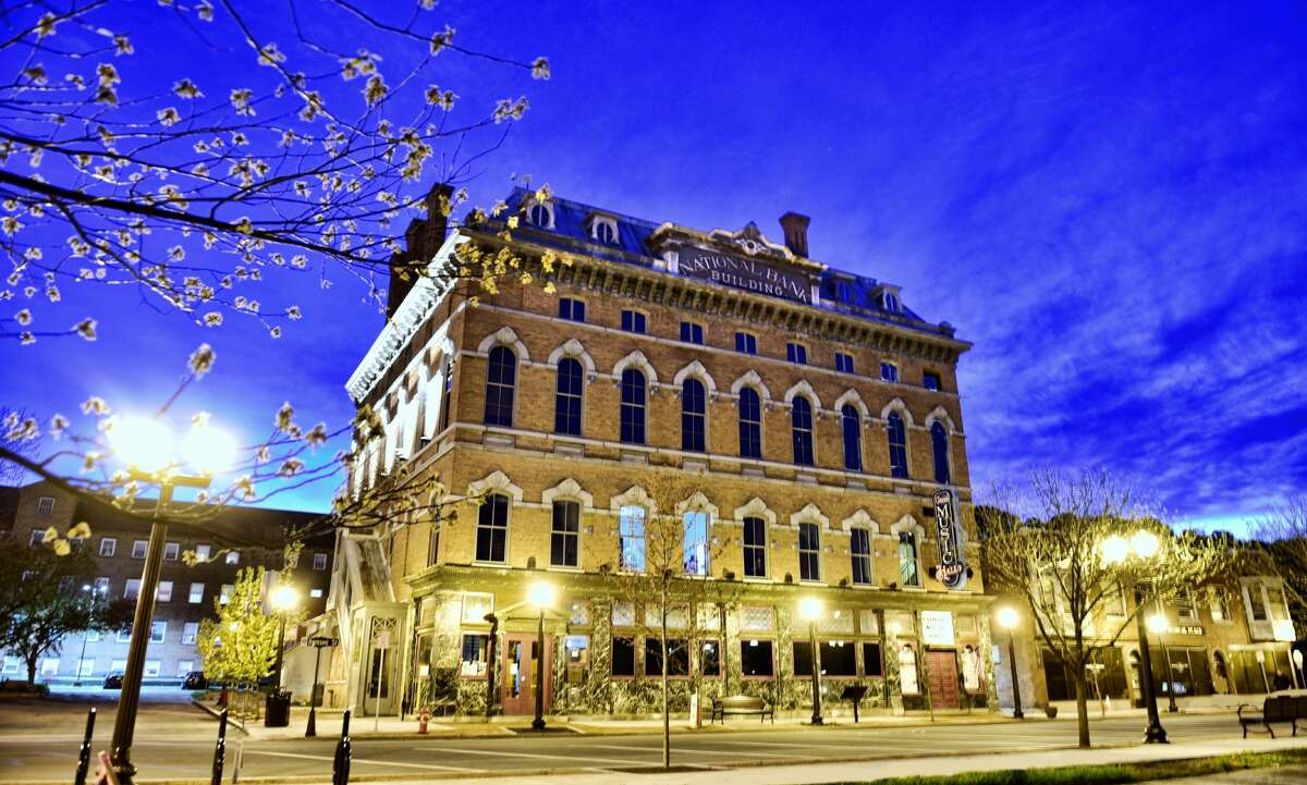 The Cohoes Music Hall. (Photo by T.R. Laz for Playhouse Stage Company.)