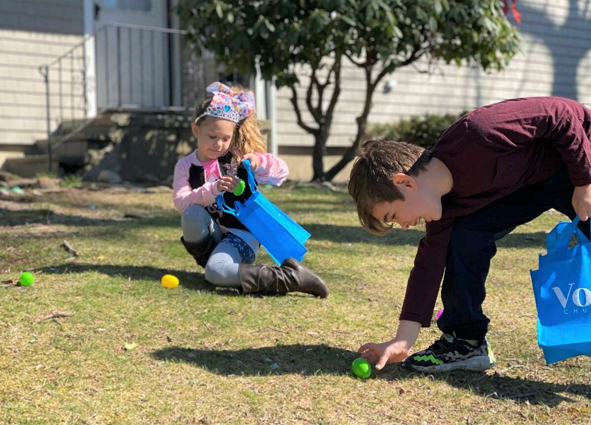 The idea for Vox Church's portable Easter egg hunts came from its Kids and Outreach ministry teams' search for a way to bring a safe and socially distanced experience to families during the Easter season.