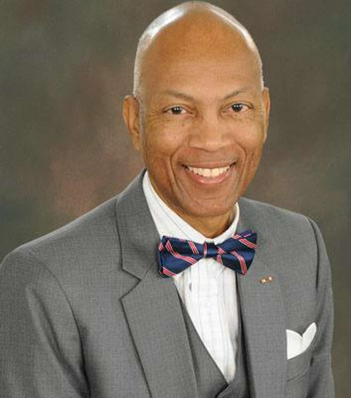 Reginald E. McKamie Sr., chairman of the Board of Pilot Commissioners for Harris County Ports, will speak at the Greater Houston Port Bureau meeting Thursday.