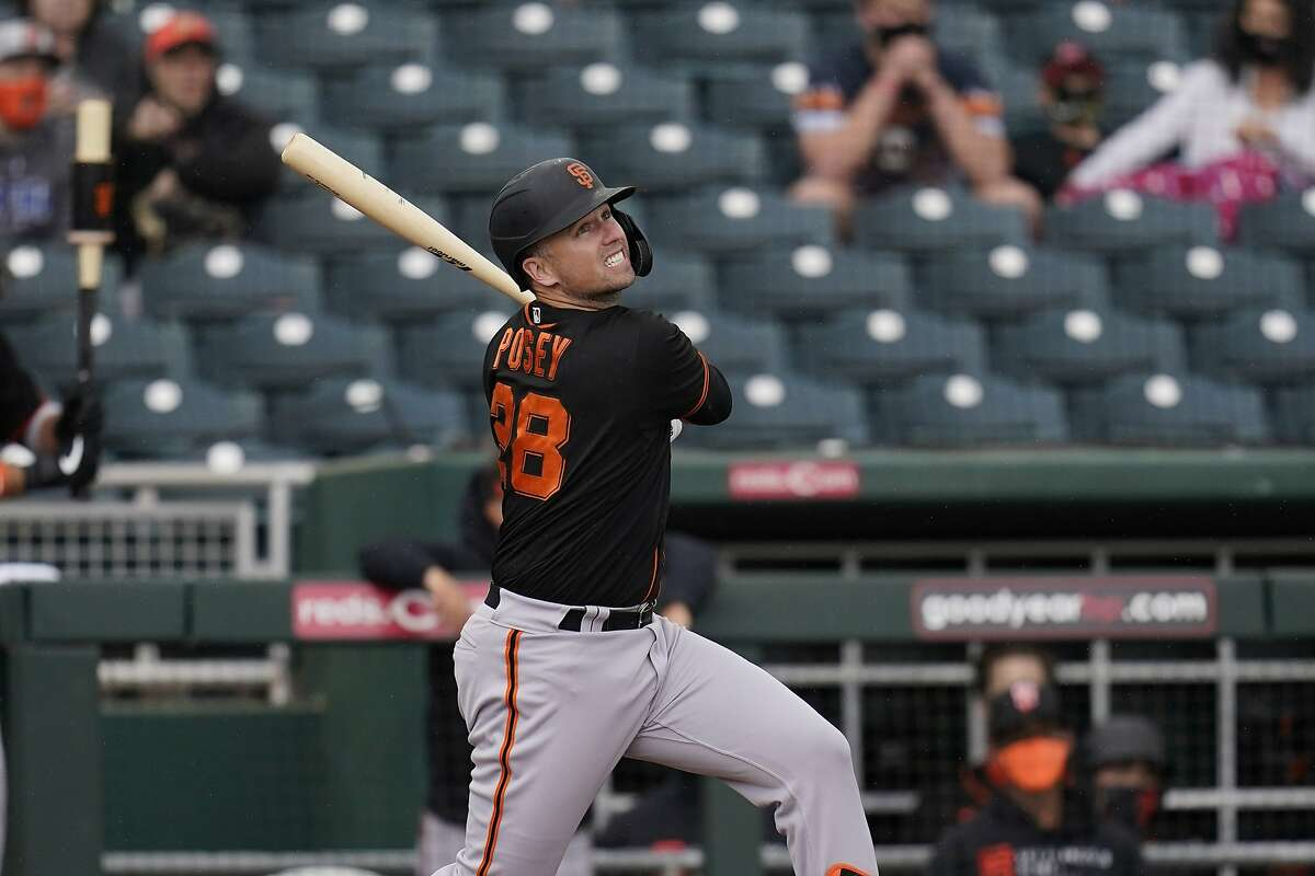 Buster Posey returns after opting out due to coronavirus concerns last season.
