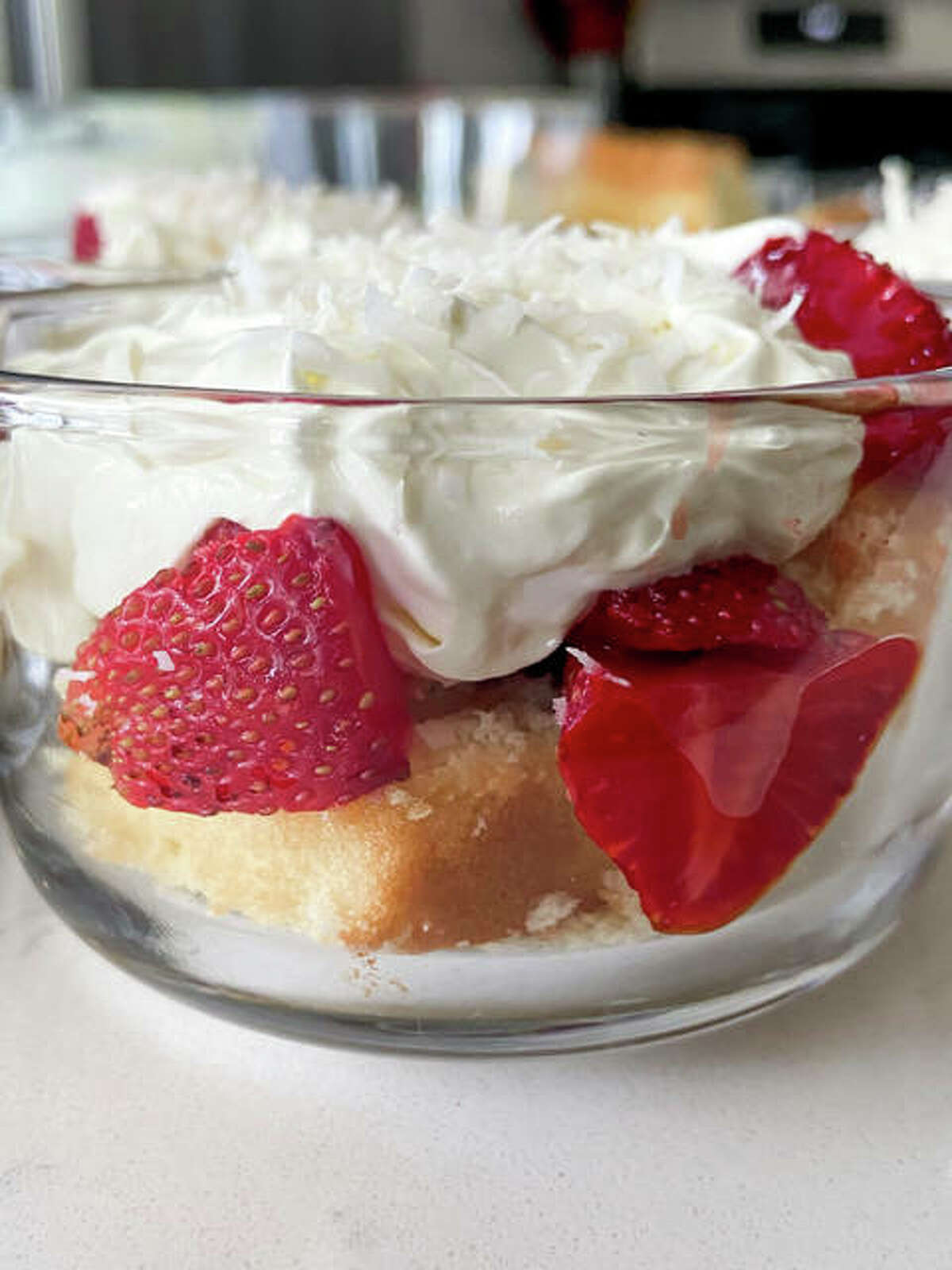 Creator Rachel Tritsch says the Strawberry and Lemon Trifles dish is a citrus and sweet, flavor-packed dessert that is perfect for summer.
