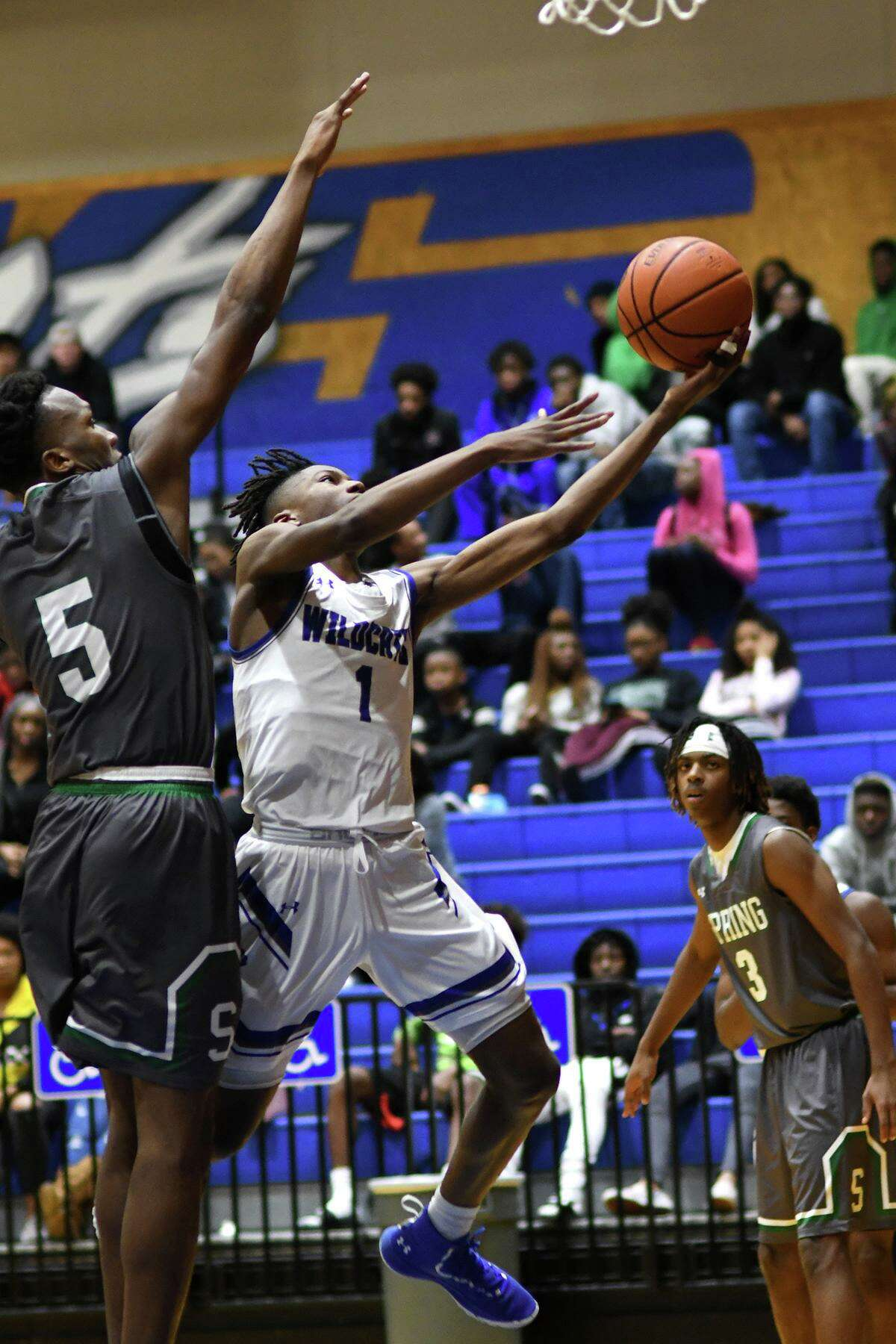Following losses by Westfield and Benjamin Davis in the UIL boys basketball tournament, the 14-6A coaches have announced the students earning All-District honors for the 2020-2021 season. Dekaney's Adrian Body II (right) was named Defensive Player of the Year.