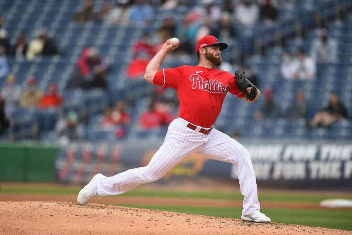 Former Carrollton Hawk standout Sam Coonrod now pitches for the Phillies after an off-season trade from San Francisco. On Sunday he was told he had made the Phillies' opening day roster.