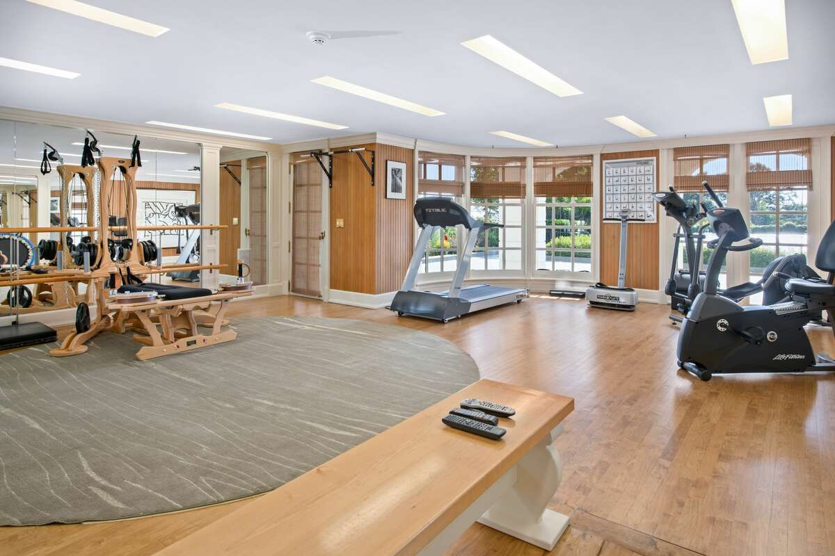 The SascoHill home also has a sizeable gym within its six levels of living space.