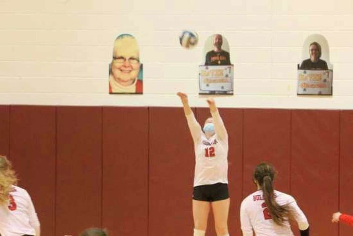 The Ferris State volleyball team will finish the regular season this weekend with two matches against Saginaw Valley State at home. (Pioneer file photo)