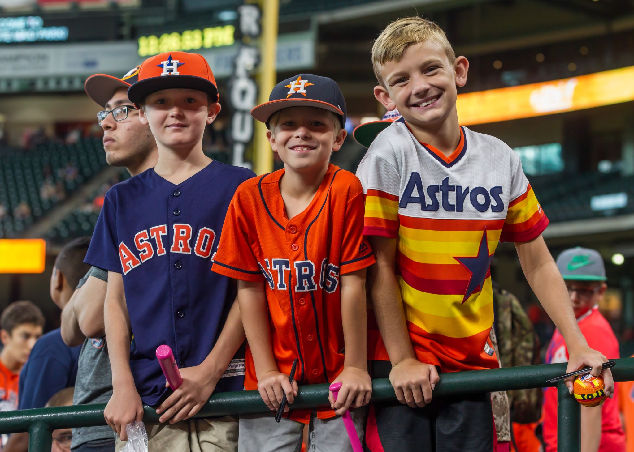 Save up to 50% off all Houston Astros gear at Fanatics.