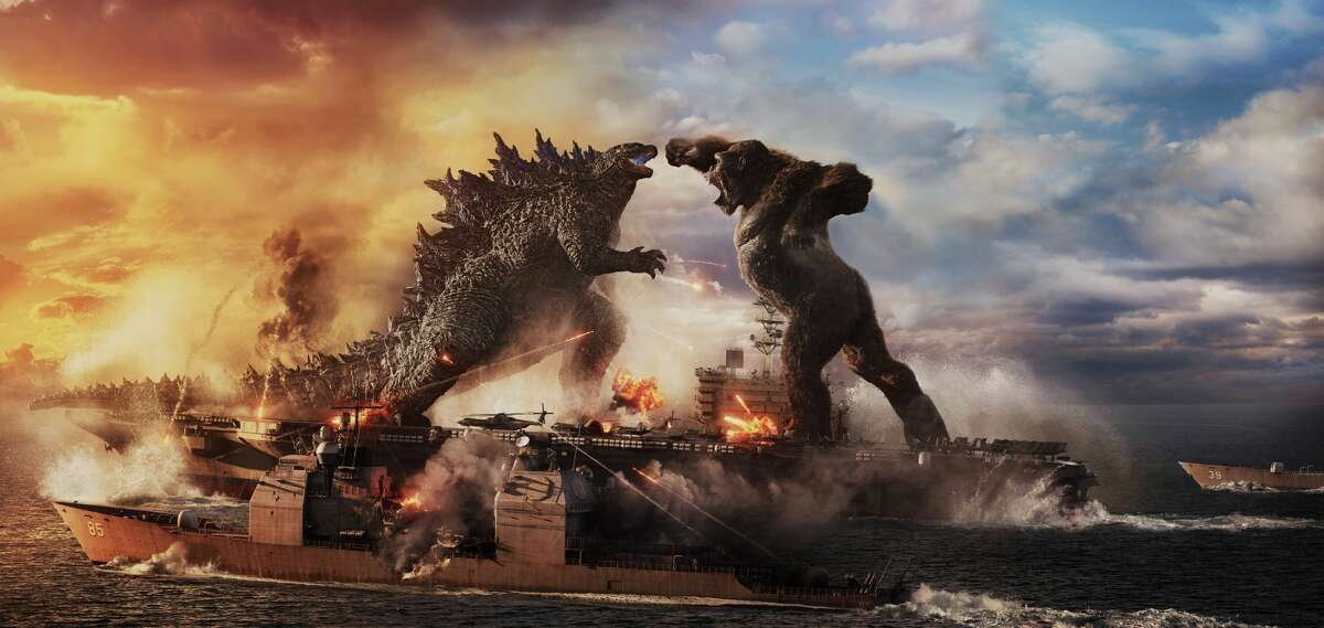 """""""Godzilla vs. Kong"""" premieres on HBO Max and in theaters March 31, 2021."""