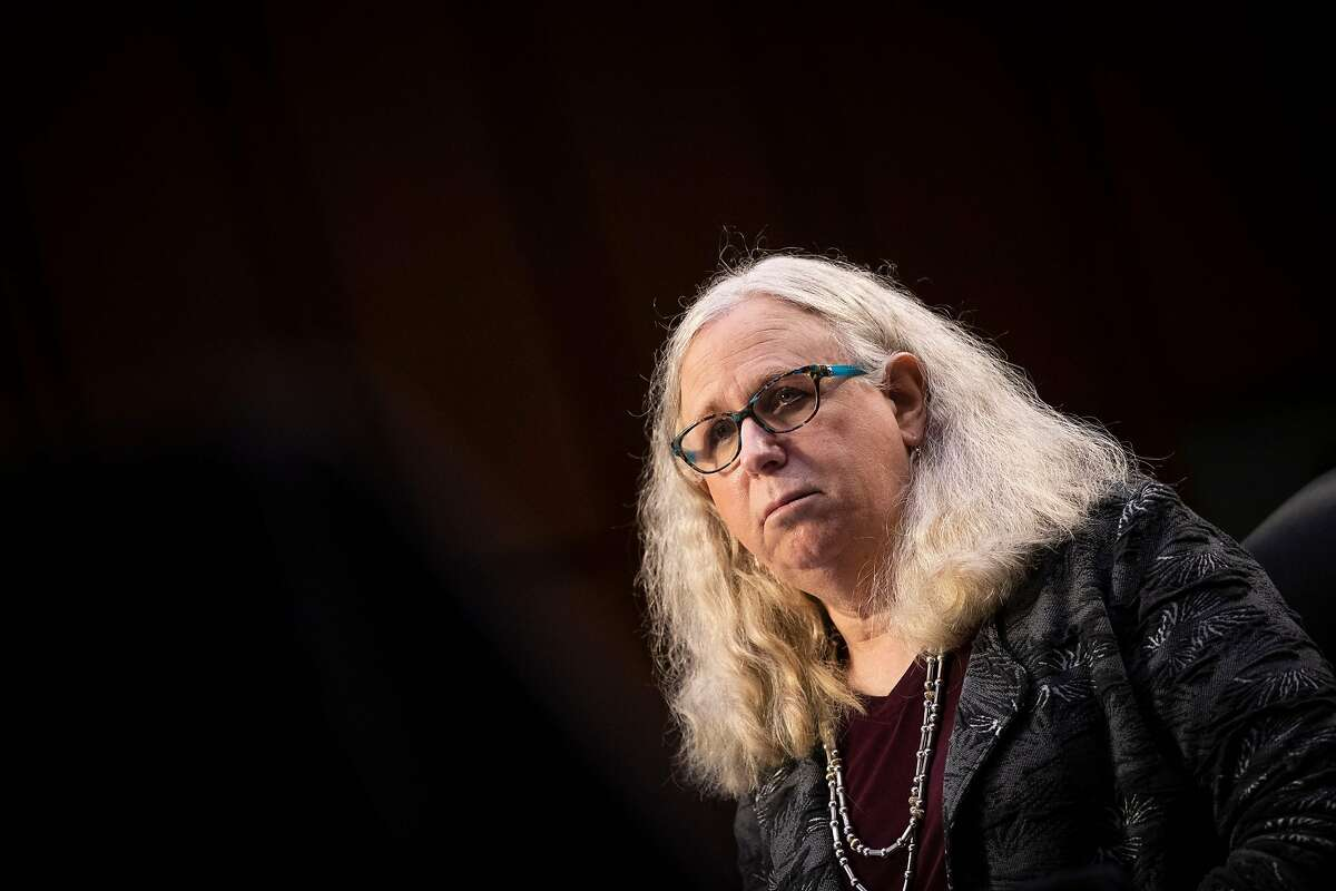 Dr. Rachel Levine, assistant secretary of health, is the first openly transgender person to be confirmed by the Senate.