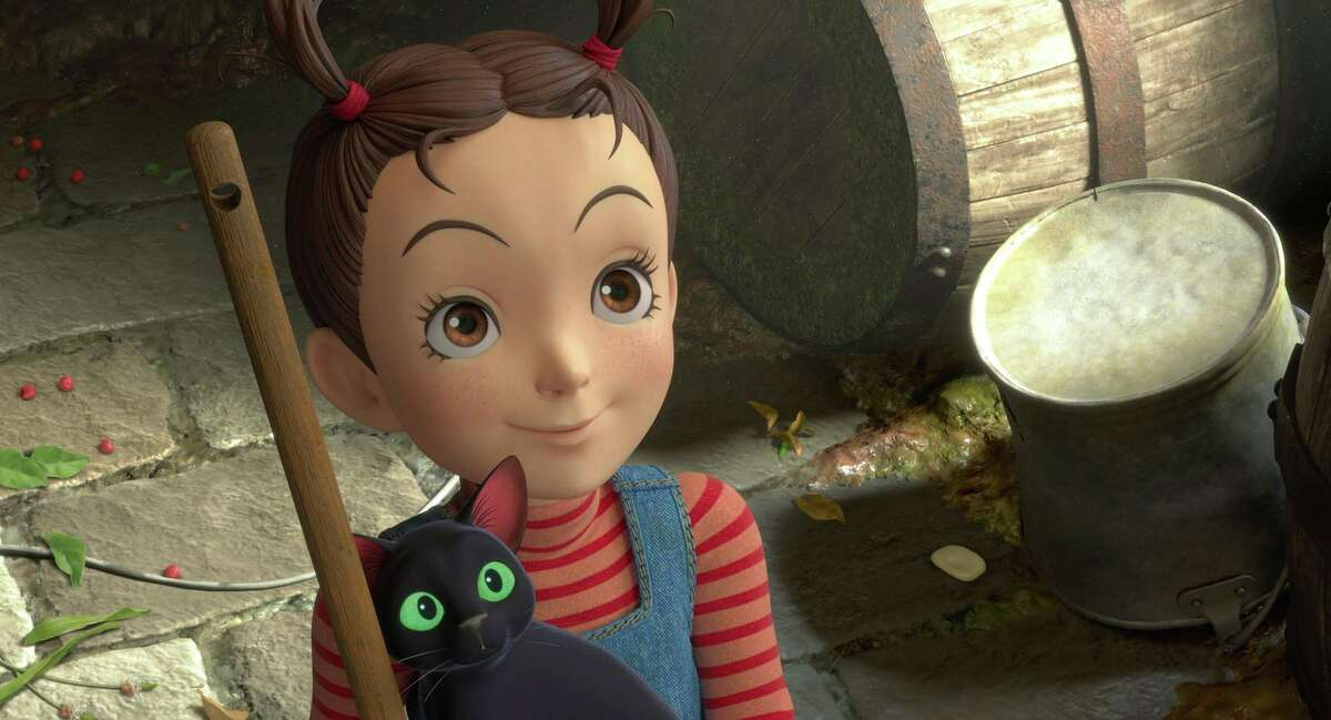 """This image released by Studio Ghibli shows a scene from """"Earwig and the Witch."""" (Studio Ghibli via AP)"""