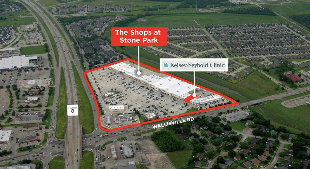 Kelsey-Seybold Clinic leased space in the Shops at Stone Park, a center at Beltway 8 and Wallisville Road in northeast Houston.