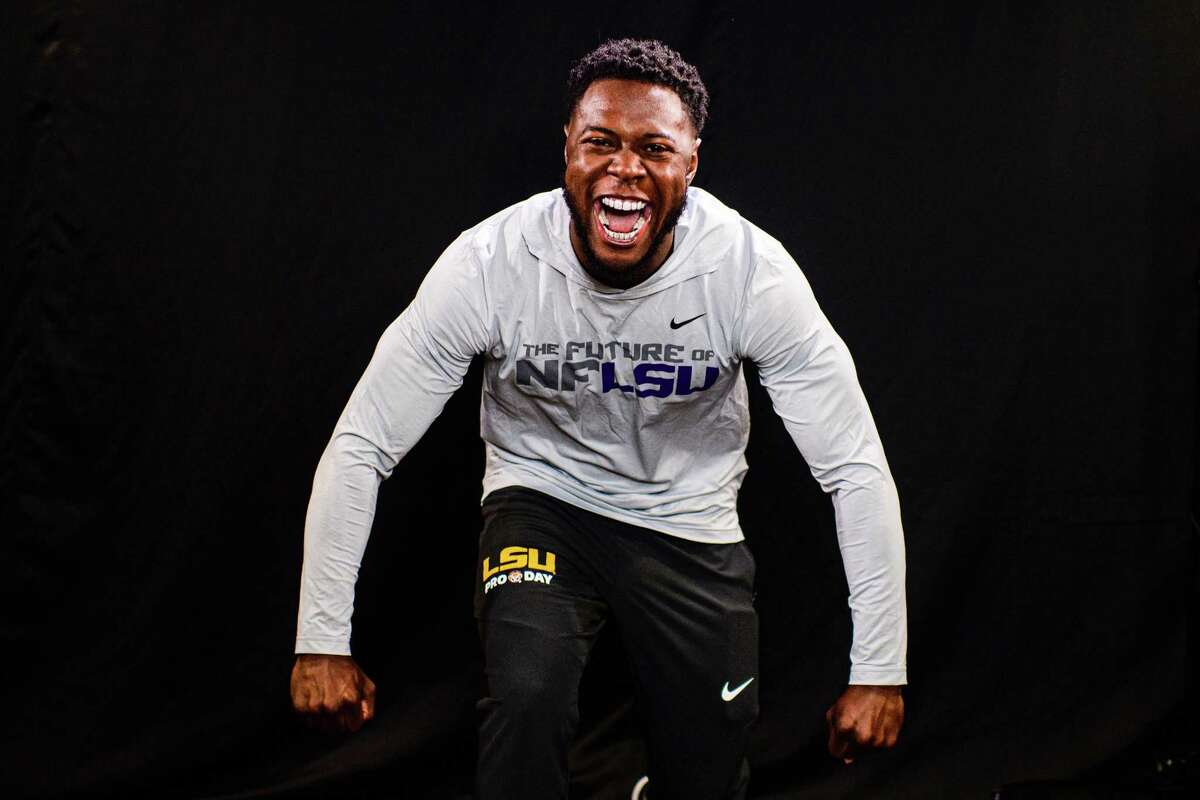 Kary Vincent Jr. was one of nine LSU players to work out Wednesday during the team's pro day event in Baton Rouge.