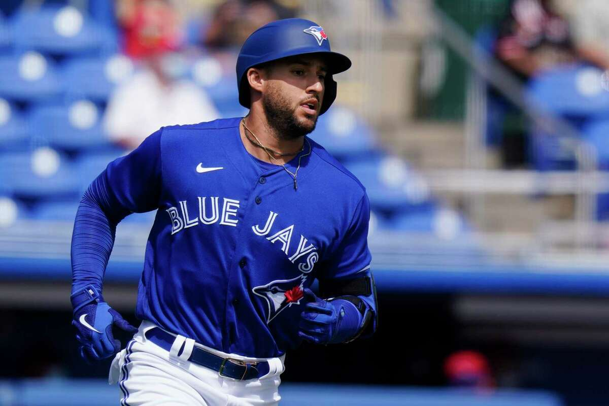 Blue Jays slugger George Springer will start the season on the IL with an oblique strain. The UConn product from hard-hittin' New Britain inked a six-year, $150 million contract with the Jays in the off-season. However, he won't be available for Toronto's season-opener at Yankee Stadium after suffering a Grade 2 oblique strain last week. Springer will begin the season on the injured list.