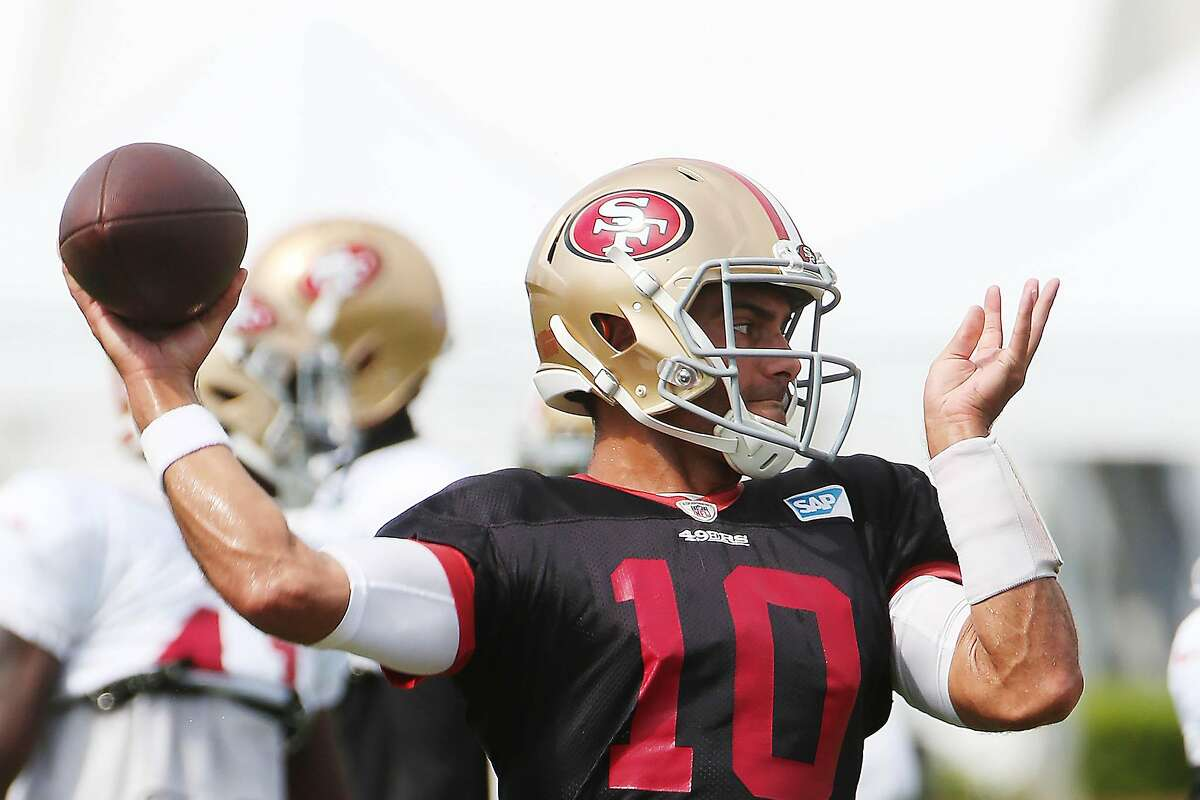 After what the 49ers were able to do in free agency, head coach Kyle Shanahan re-thought the idea of trading away quarterback Jimmy Garoppolo.