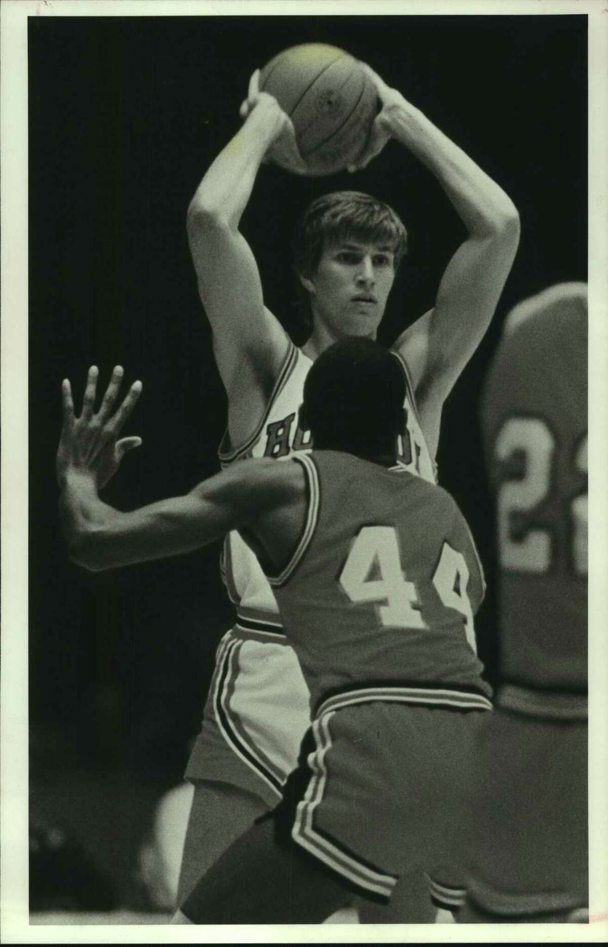 Reid Gettys still holds the University of Houston men's basketball team record for most career assists, most assists in a single season and most assists in a singe game