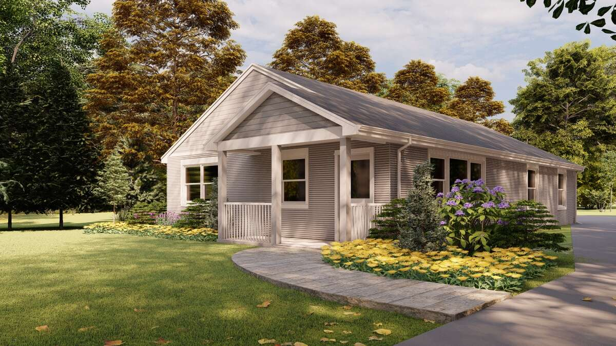 3D home printing company SQ4D, Inc., based in Patchogue, N.Y., will be constructing the first legally permitted 3D home to be listed for sale in the U.S. in Riverhead, N.Y. following its pending sale. The rendering of the home includes a 1,400-square-foot layout with three bedrooms and two full bathrooms.