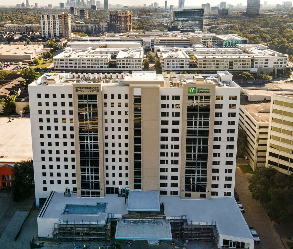 American Liberty Hospitality opened openedHoliday Inn Express Houston - Galleria Area and Staybridge Suites Houston - Galleria Area on Loop 610 between Westheimer and San Felipe.