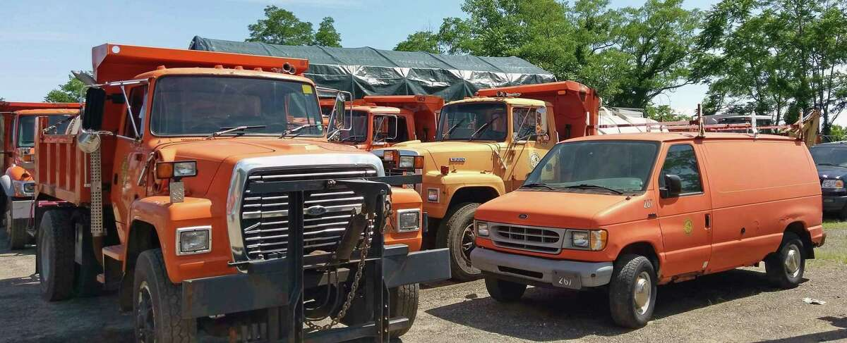 File photo of vehicles at the Fairfield Department of Public Works.