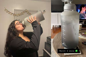 Fidus Motivational Leakproof Gallon Water Bottle , $22.99 at Amazon