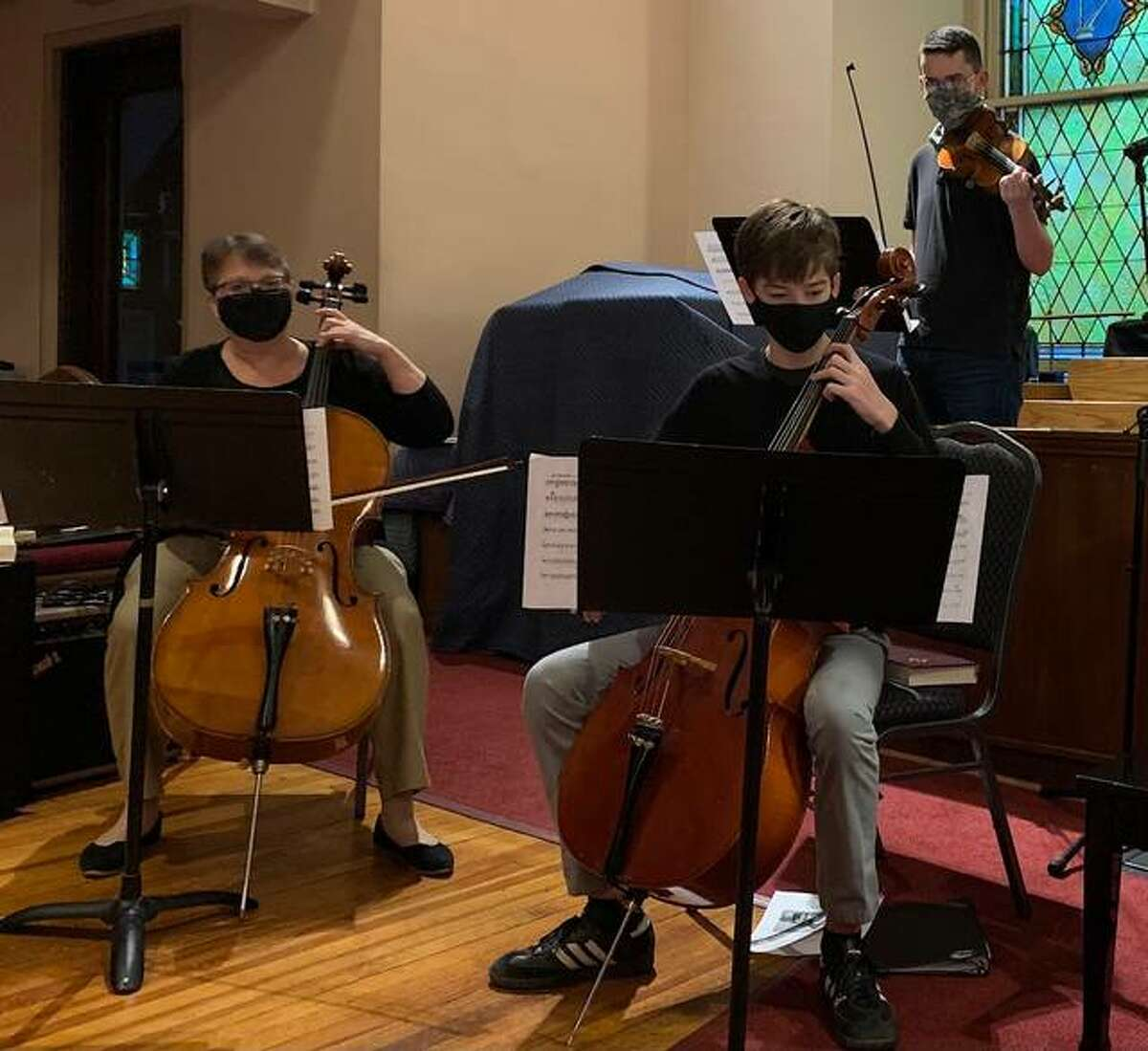 For the third straight year running Metro-East Lutheran High School's orchestra has claimed first place in the Illinois High School Association's solo and ensemble competition.