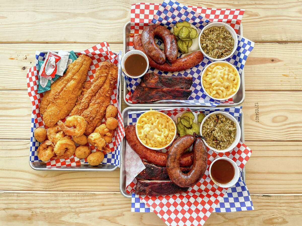 Lonestar Sausage & BBQ has delicious, juicy Beaumont-style beef links, among other offerings.