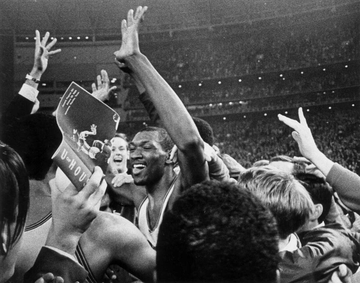 Elvin Hayes says he woldn't trade his team's win in the 'Game of the Century' over UCLA for an NCAA title. Houston lost to UCLA in consecutive Final Fours.
