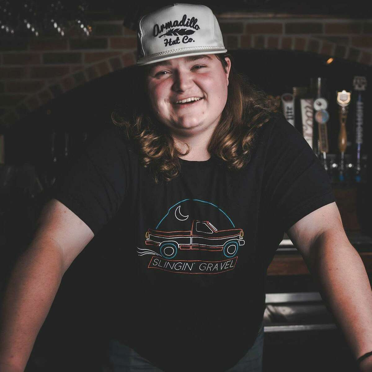 East Texas entertainer Kolby Cooper performs on Friday, April 9, at the Montgomery County Fair.