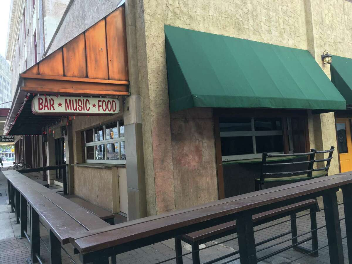 Moses Rose's Hideout is located downtown at 516 E. Houston St.