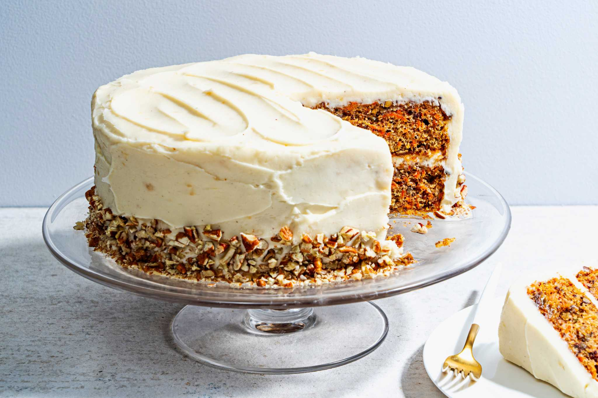 This carrot cake with brown butter-cream cheese frosting will keep you coming back for more