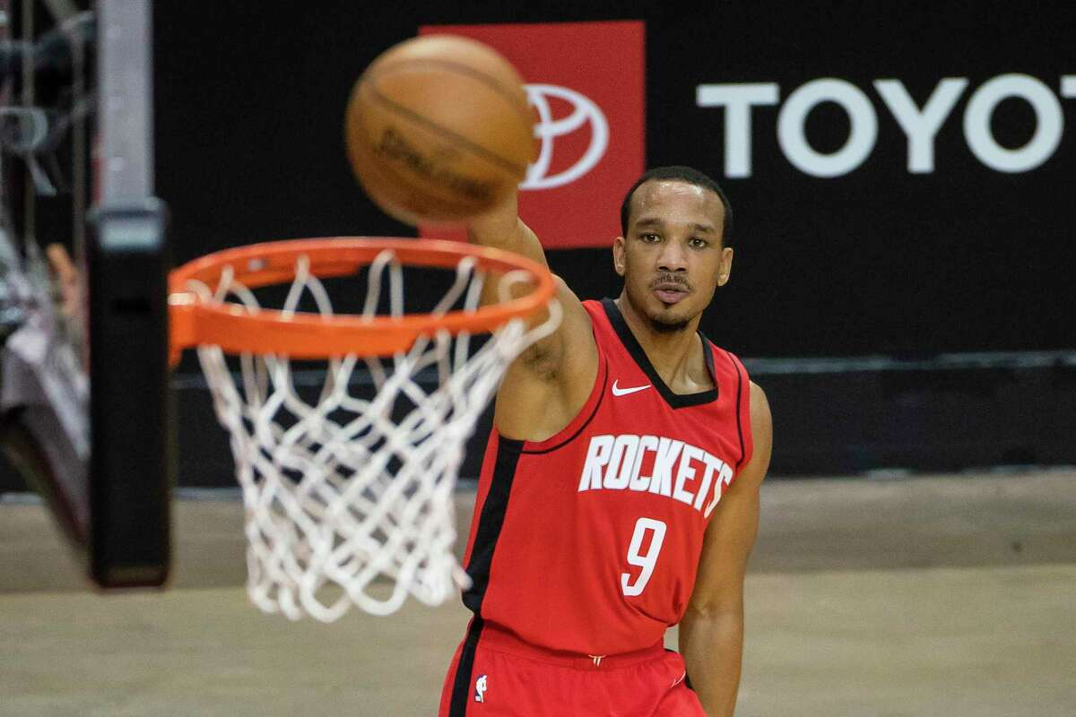 Recently acquired guard Avery Bradley says he would be happy to stay with the Rockets, who hold a team option on his contract next season and beyond.