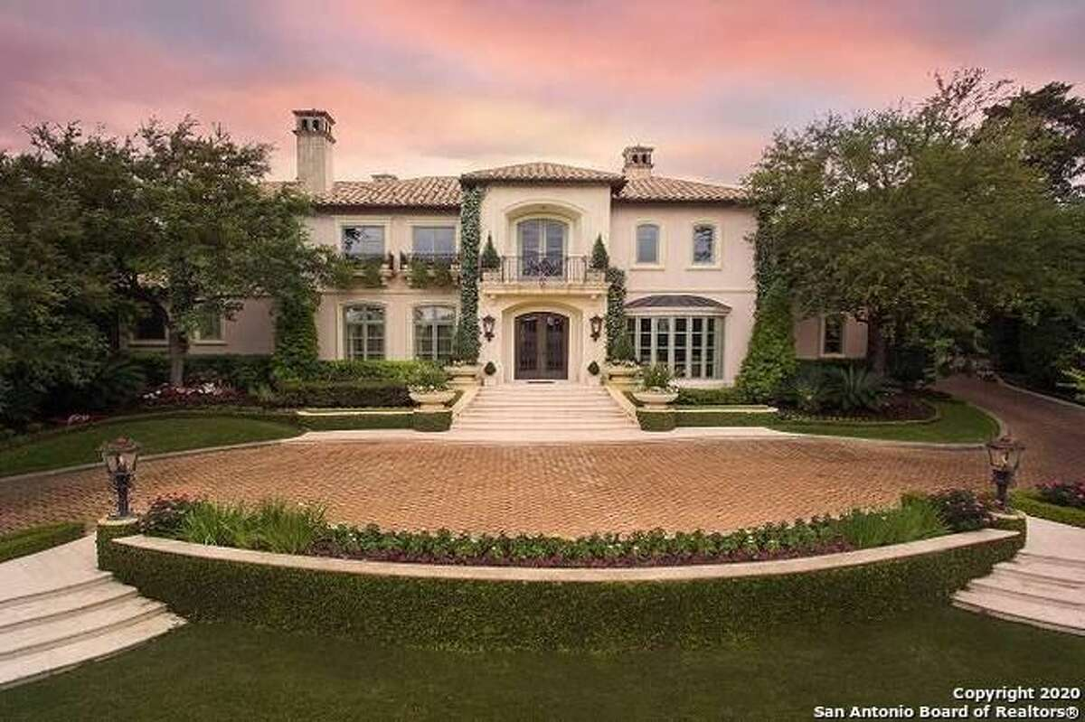 This Terrell Hill stunner is on the market for $5.249 million, and includes a grand staircase, coffered ceilings, wood floors, and carved fireplaces