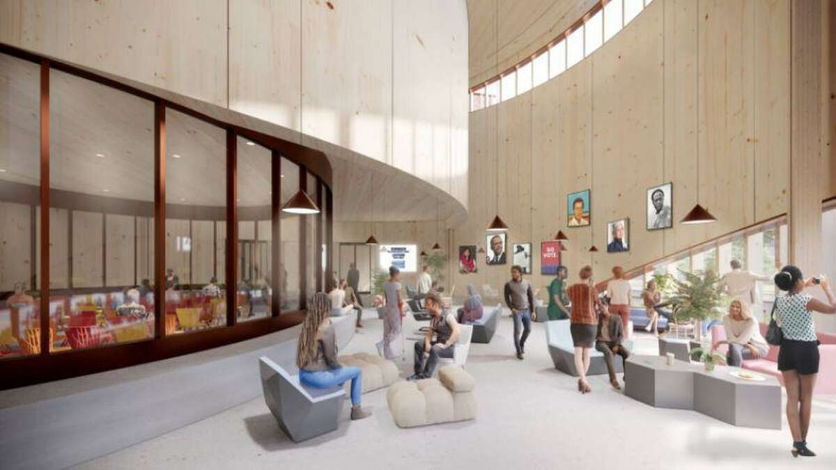 Adjaye Associates, the same firm that designed the Smithsonian National Museum of African American History and Culture in Washington, has been chosen to design Rice University's new student center.