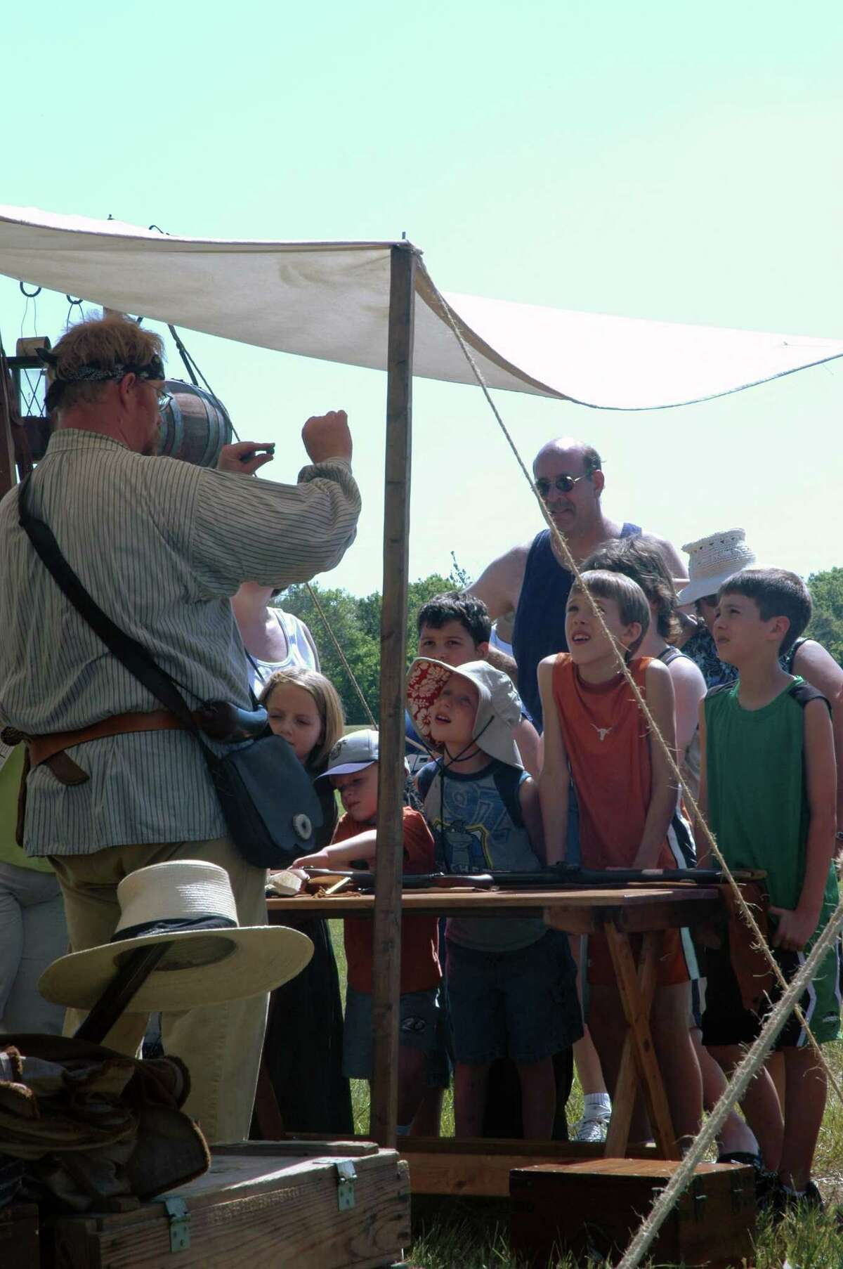 The festival will feature living history exhibits.