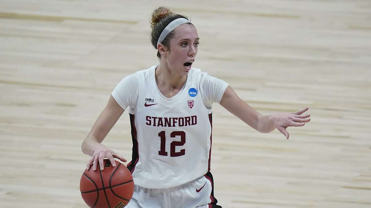 Lexie Hull and Stanford meet South Carolina in the Final Four at 3 p.m. Friday (ESPN).