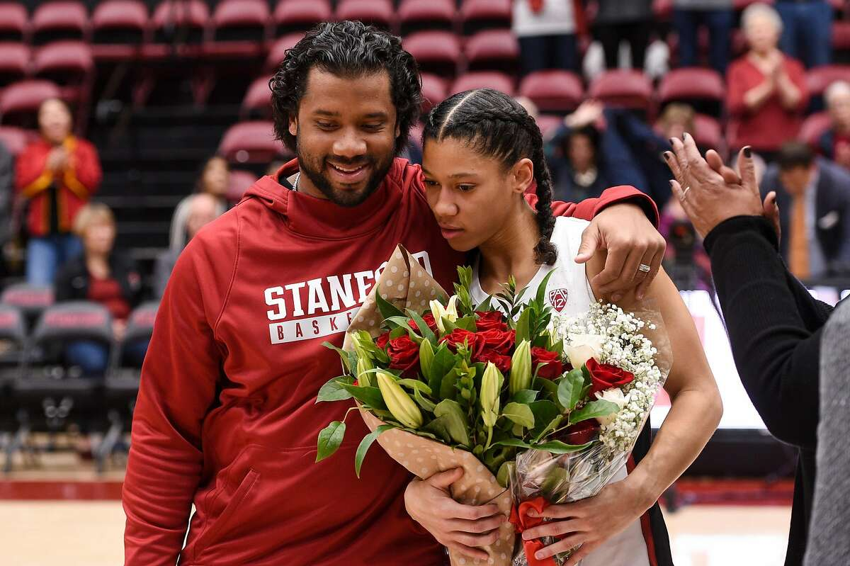 Last year, Russell Wilson accompanied his sister Anna for Senior Day ceremonies at Stanford. She then successfully appealed to get another year of eligibility.