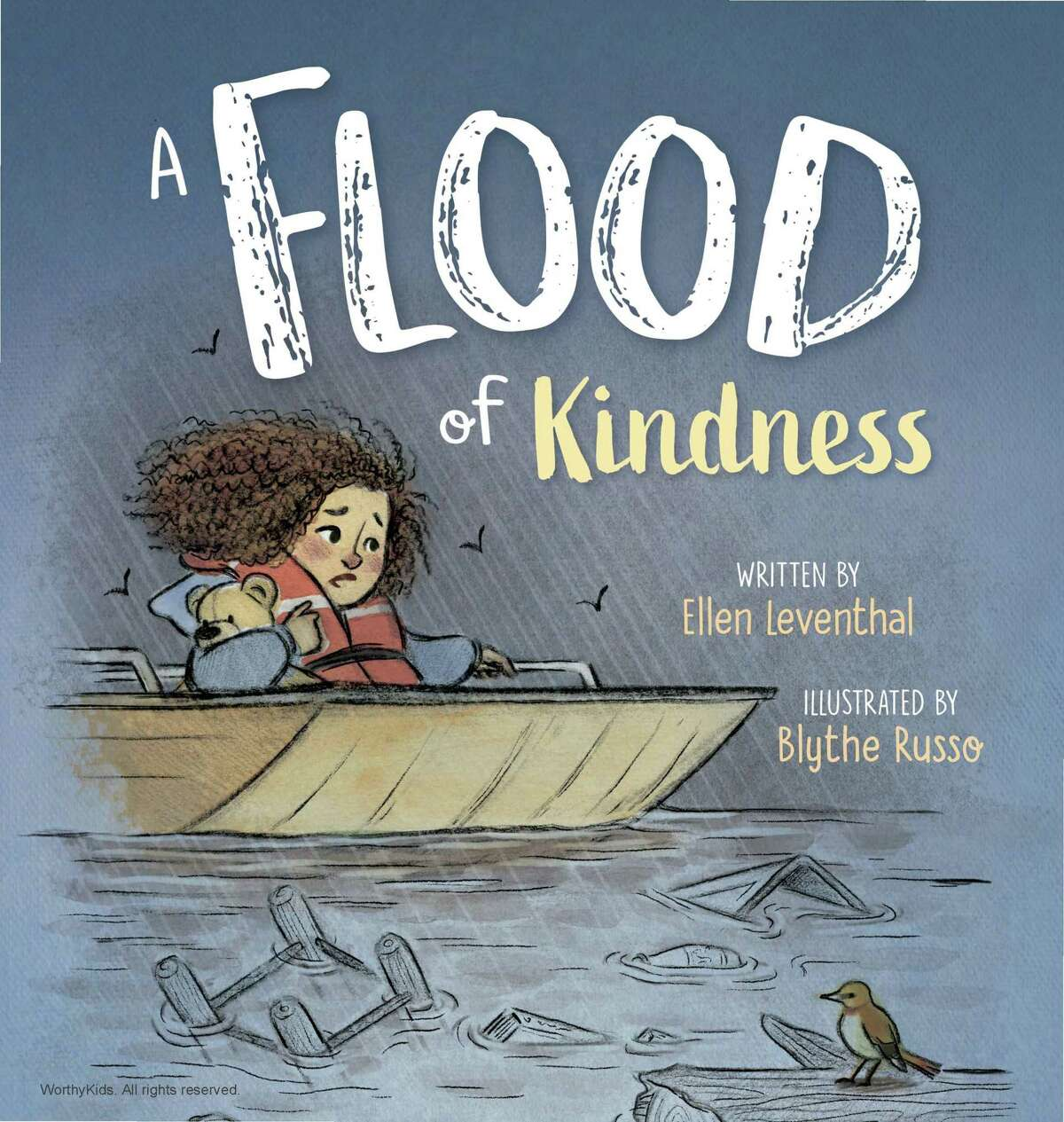 Author and educator Ellen Leventhal's latest book A Flood of Kindness will be released on April 13. Leventhal is planning a virtual book launch event with Brazos Bookstore on April 24.