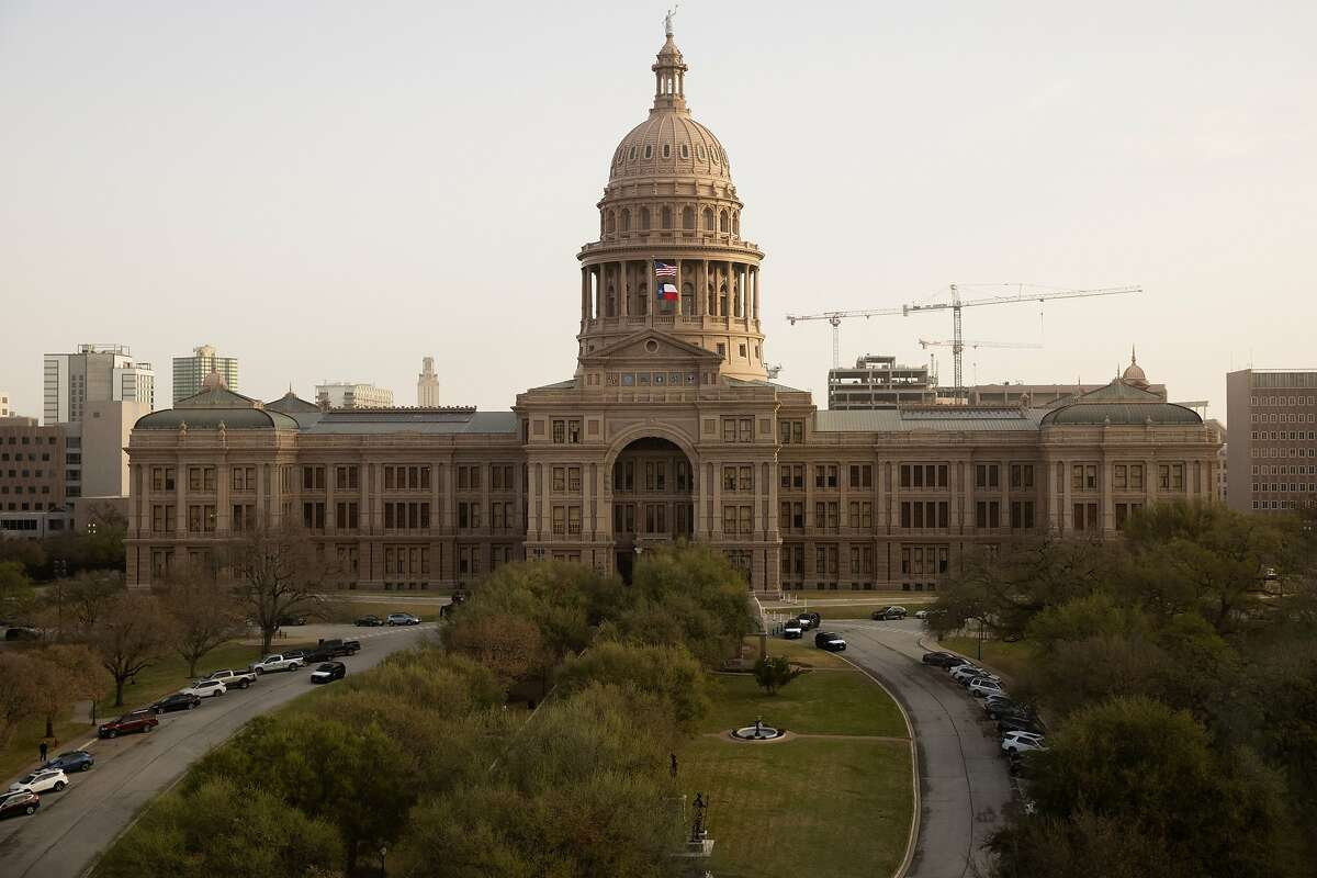 The Texas Capitol in Austin on Wednesday, March 17, 2021. (Juan Figueroa/The Dallas Morning News/TNS)